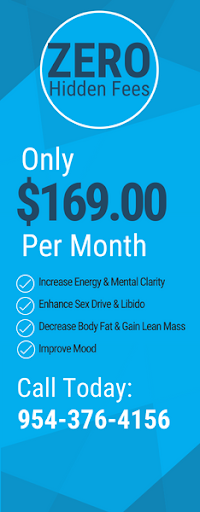 Get Started with Hormone Therapy Men Weston FL